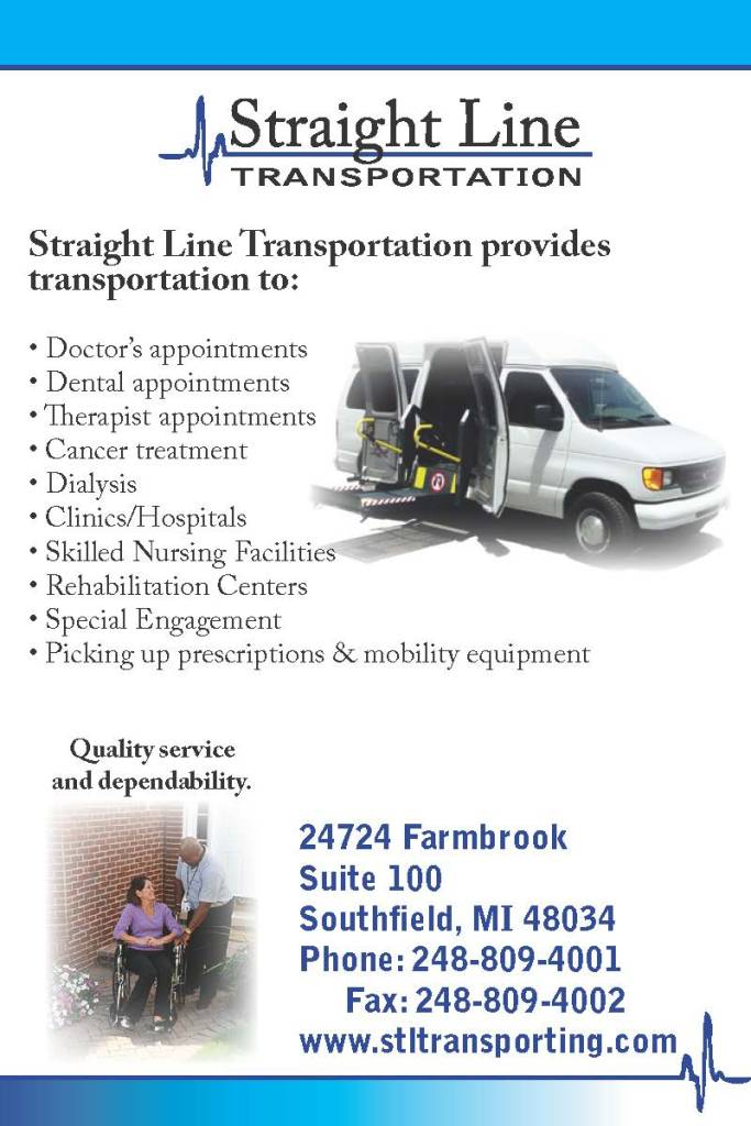 Straight Line Transportation 4x6 flier